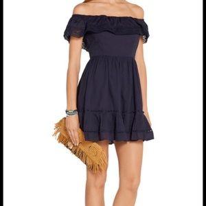 Love Shack Fancy Off The Shoulder Dress